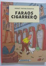 Tintin 05 Faraos cigarrer 3:e uppl. 1971 Vg+