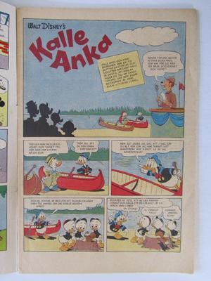 Kalle Anka 1956 06 Vg-