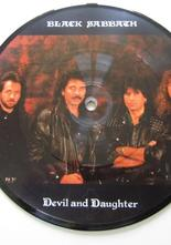 "Black Sabbath Devil and Daughter 7"" picture disc"