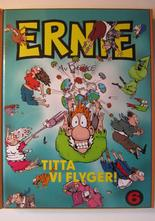 Ernie 6 2000 Titta vi flyger - inbundet album