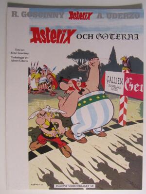 Asterix 09 Asterix och Goterna Ny upplaga Fn