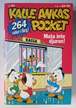 Kalle Ankas pocket 094 Mata inte djuren