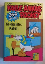 Kalle Ankas pocket 105 Gör det inte, Kalle