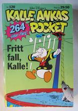 Kalle Ankas pocket 120 Fritt fall, Kalle