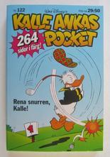 Kalle Ankas pocket 122 Rena snurren, Kalle
