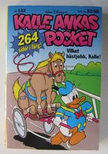 Kalle Ankas pocket 132 Vilket hästjobb, Kalle