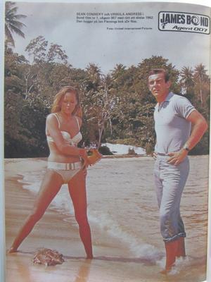 James Bond album 1984 Dödligt dubbelspel