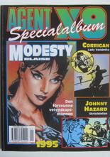 Agent X9 Julalbum 1995 med Modesty Blaise