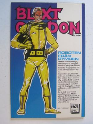 Blixt Gordon 1980 Roboten från rymden