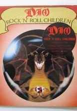 "Dio Rock'n'roll Children / Sacred Heart 7"" singel gatefold sleeve"