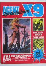 Agent X9 Julalbum 1985 med Modesty Blaise