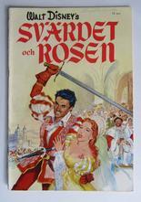 Walt Disney's Svärdet och rosen 1954 Vg