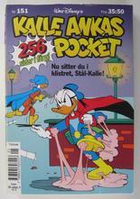 Kalle Ankas pocket 151 Nu sitter du i klistret, Stål-Kalle