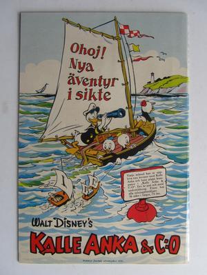 Walt Disney's En världsomsegling under havet 1955 Vg+