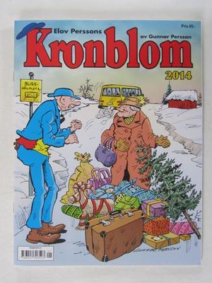 Kronblom Julalbum 2014