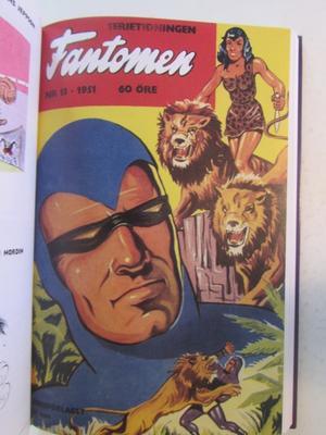 Fantomen Den inbundna årgången 1951 Del 2