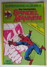 Spindelmannen Superseriealbum 04 1980