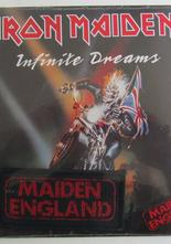 "Iron Maiden Infinite Dreams 7"" med tygmärke"