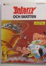 Asterix 13 Asterix och skatten 1:a upplagan Vg-