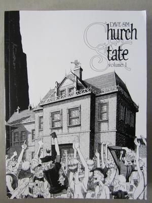 Cerebus Vol 3 Church & State 1