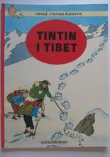 Tintin 09 Tintin i Tibet 4:e uppl. 1971 Vg+