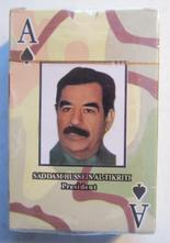 Saddam Hussein kortlek