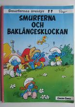 Smurfernas äventyr 12 Baklängesklockan Vg-