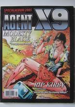 Agent X9 Julalbum 2005 med Modesty Blaise
