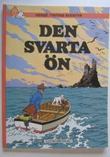 Tintin 15 Den svarta ön 6:e uppl. 1971 VF