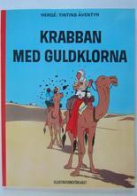 Tintin 17 Krabban med guldklorna 2:a uppl. NM