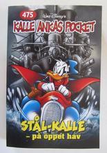 Kalle Ankas pocket 475 Stål-Kalle på öppet hav