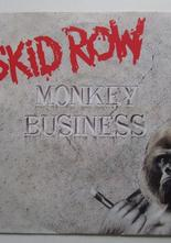 "Skid Row Monkey Business / Slave to the Grind 7"" singel"
