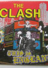 "Clash This is England / Do it Now 7"" singel med posteromslag"