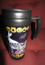 Nightmare Before Christmas Mugg med lock