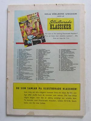 Illustrerade Klassiker 001 Alice i Underlandet Vg(+) 2:a uppl.