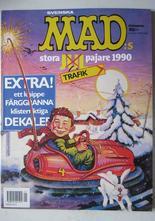 Mad 1990 Mad:s Julpajare