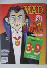 Mad 1989 Mad:s Julpajare