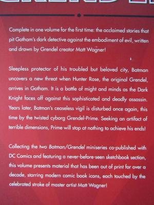 Batman - Batman Grendel