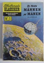Illustrerade Klassiker 068 De första männen på månen 1:a uppl. Fair-