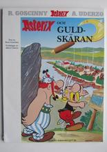 Asterix 10 Asterix och guldskäran 5:e upplagan Vg+