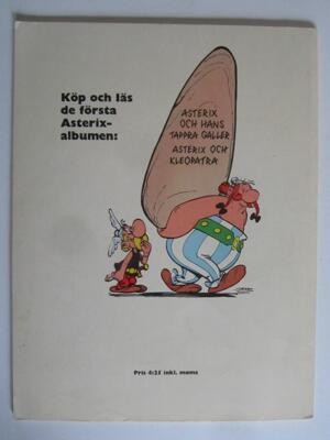 Asterix 03 Asterix och vikingarna 1:a upplagan Vg