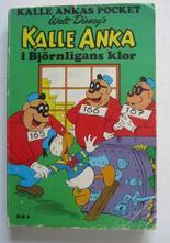 Kalle Ankas pocket 006 Kalle Anka i Björnligans klor 1:a uppl.