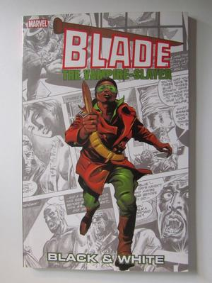 Blade the Vampire Slayer Black & White
