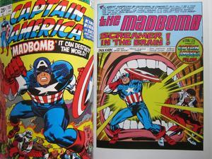 Captain America and the Falcon Madbomb