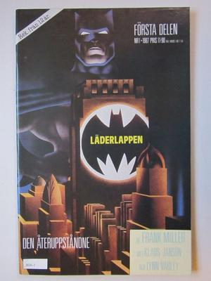 Läderlappen 1987 01 Dark Knight Returns Fn