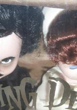 Living Dead Dolls Set Edgar Allan Poe & Annabel Lee