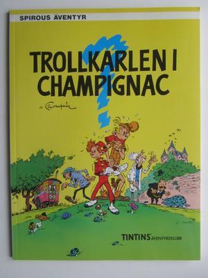 Spirou 16 Trollkarlen i Champignac