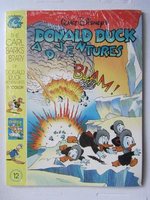 Carl Barks Library Donald Duck Adventures 12