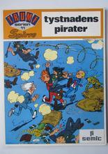 Spirou Trumfserien 11 Spirre Tystnadens pirater