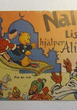 Nalle och Lisa 1958 hjälper Ali Baba Vg